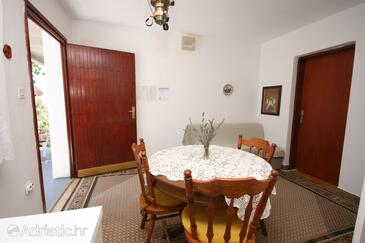 Podaca, Dining room in the apartment.