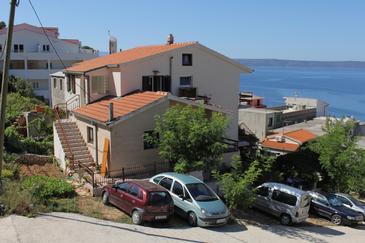 Drašnice, Makarska, Obiekt 6803 - Apartamenty przy morzu ze żwirową plażą.