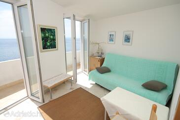 Podgora, Living room in the apartment, WiFi.