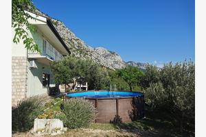 Holiday house with a swimming pool Gornji Tučepi - Podpeć, Makarska - 6815