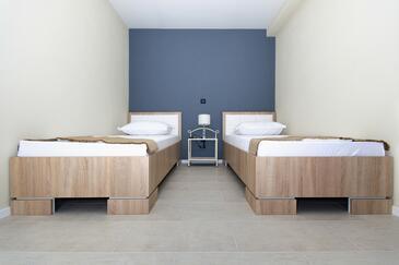 Tučepi, Pokój dzienny w zakwaterowaniu typu apartment, Dostępna klimatyzacja, zwierzęta domowe są dozwolone i WiFi.