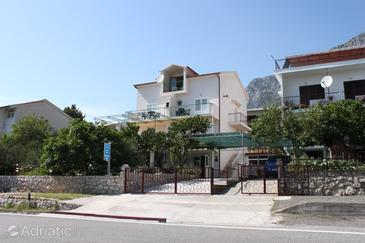 Gradac, Makarska, Object 6819 - Appartementen en kamers with pebble beach.