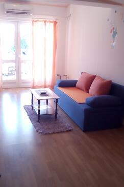 Gradac, Гостиная в размещении типа apartment, доступный кондиционер, Домашние животные допускаются и WiFi.