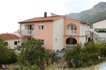 Gradac, Makarska, Объект 6820 - Апартаменты с галечным пляжем.