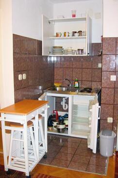 Podaca, Kitchen in the studio-apartment, WIFI.