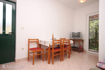 Zaostrog, Dining room in the apartment, WIFI.