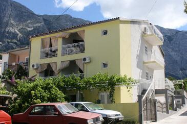 Baška Voda, Makarska, Objekt 6827 - Apartmaji s prodnato plažo.
