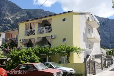 Baška Voda, Makarska, Propiedad 6827 - Apartamentos with pebble beach.