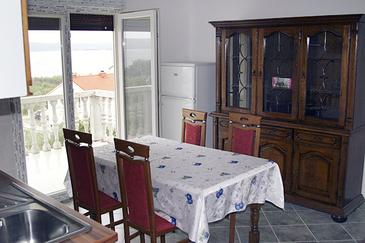 Neviđane, Dining room in the apartment, WiFi.