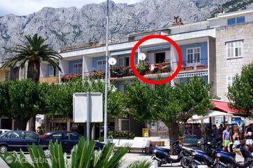 Makarska, Makarska, Property 6843 - Apartments near sea with pebble beach.