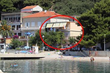 Podgora, Makarska, Property 6846 - Apartments near sea with pebble beach.