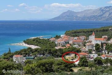 Promajna, Makarska, Property 6849 - Apartments near sea with pebble beach.