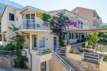 Tučepi, Makarska, Objekt 6856 - Ubytování s oblázkovou pláží.