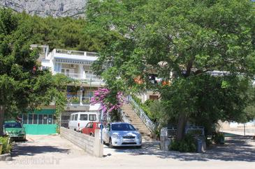 Tučepi, Makarska, Objekt 6857 - Ubytování s oblázkovou pláží.