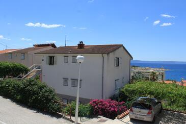 Makarska, Makarska, Property 6858 - Apartments with pebble beach.