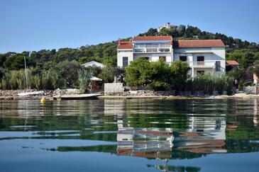 Tkon, Pašman, Objekt 686 - Ubytování v blízkosti moře.