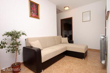 Poreč, Living room in the apartment, dopusteni kucni ljubimci i WIFI.