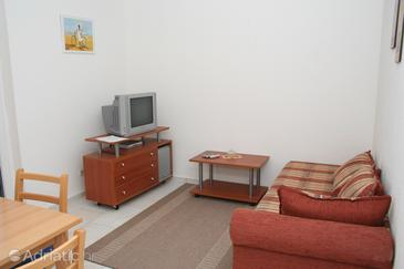 Mirca, Living room in the apartment.