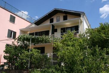 Podaca, Makarska, Szálláshely 6874 - Apartmanok a tenger közelében kavicsos stranddal.