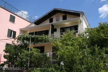 Podaca, Makarska, Objekt 6874 - Ubytování v blízkosti moře s oblázkovou pláží.