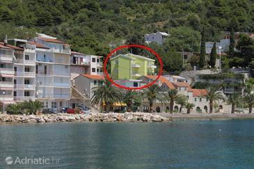 Živogošće - Porat, Makarska, Property 6876 - Apartments near sea with pebble beach.