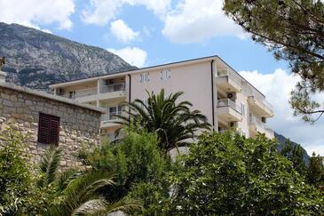 Makarska, Makarska, Objekt 6880 - Ubytovanie blízko mora s kamienkovou plážou.