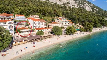 Gradac, Makarska, Property 6886 - Apartments near sea with pebble beach.