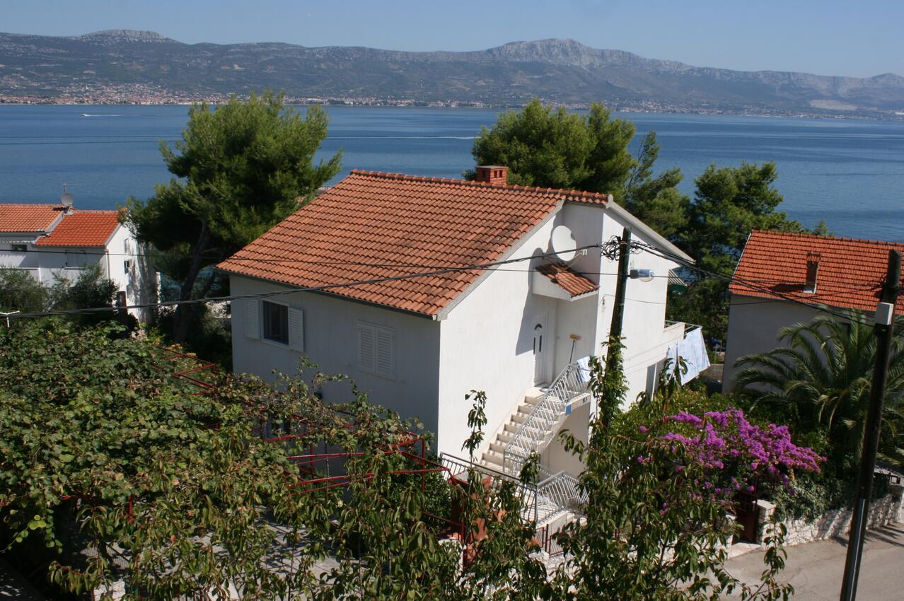 Ferienwohnung im Ort Slatine (?iovo), Kapazitä Ferienwohnung in Kroatien