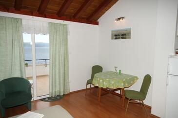 Pisak, Dining room in the studio-apartment, WIFI.