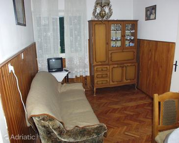 Pašman, Living room in the house.