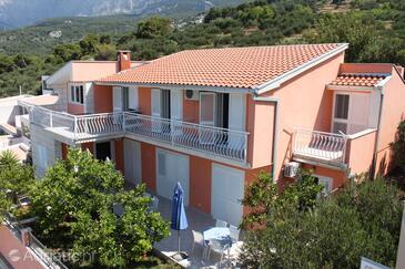 Podgora, Makarska, Objekt 6911 - Ubytování s oblázkovou pláží.