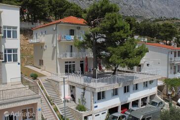 Baška Voda, Makarska, Objekt 6912 - Ubytování s oblázkovou pláží.