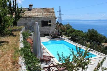 Brela - Krug, Makarska, Property 6916 - Vacation Rentals with pebble beach.