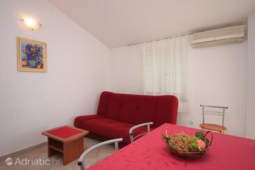 Novigrad, Гостиная в размещении типа apartment, dostupna klima i WIFI.