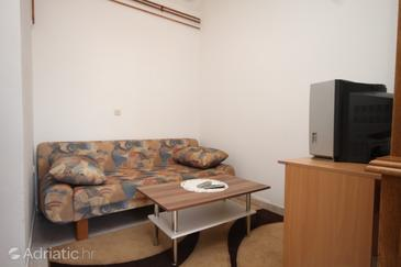 Vrsar, Living room in the apartment, dopusteni kucni ljubimci.