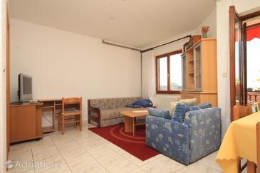 Vrsar, Living room in the apartment.