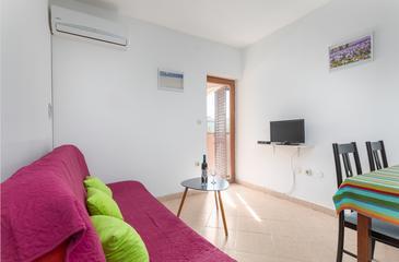 Fažana, Гостиная в размещении типа apartment, доступный кондиционер и WiFi.