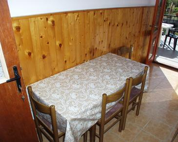 Kraj, Dining room in the apartment, dopusteni kucni ljubimci i WIFI.