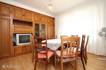 Umag, Jídelna v ubytování typu apartment, domácí mazlíčci povoleni a WiFi.