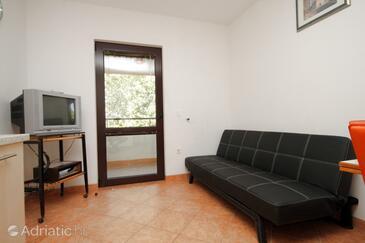 Vabriga, Living room in the apartment, WIFI.