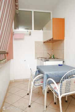 Vabriga, Kitchen in the studio-apartment, dopusteni kucni ljubimci i WIFI.