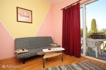 Buići, Living room in the apartment, dopusteni kucni ljubimci i WIFI.