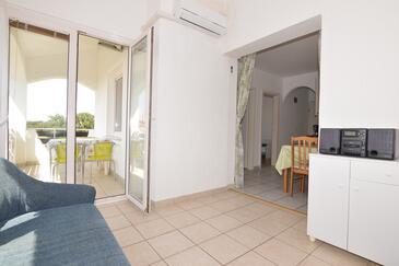 Poreč, Гостиная в размещении типа apartment, доступный кондиционер и WiFi.
