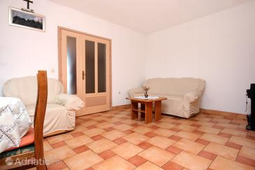 Kraj, Living room in the apartment, air condition available and WiFi.