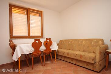 Umag, Comedor in the apartment, (pet friendly) y WiFi.