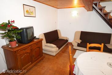 Umag, Living room in the apartment, (pet friendly) and WiFi.