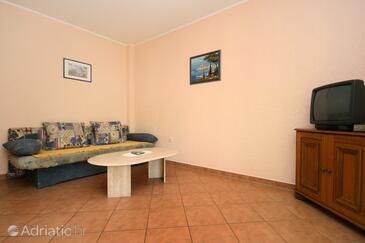Poreč, Living room in the apartment, dopusteni kucni ljubimci.