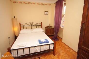 Vrsar, Ložnice v ubytování typu room, dopusteni kucni ljubimci i WIFI.