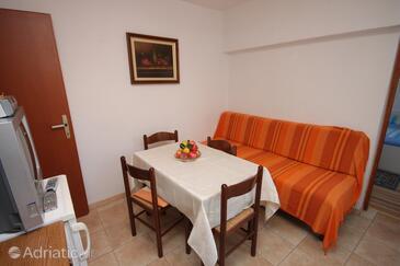 Poreč, Столовая в размещении типа apartment, доступный кондиционер и WiFi.