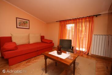 Umag, Living room in the apartment, dopusteni kucni ljubimci.
